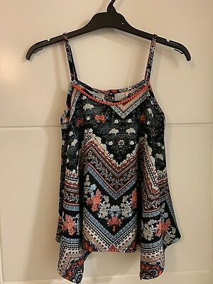 Girls Bnwot M&Co Kylie Summer Top Size 11-12 Years