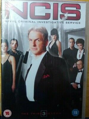 NCIS: The Third Season [DVD] BRAND NEW AND FACTORY SEALED