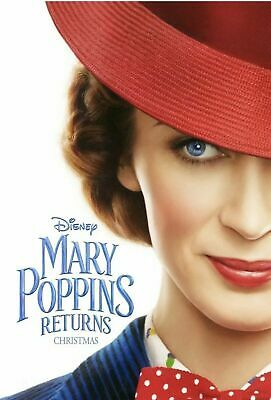Mary Poppins:returns (New,2019,Dvd,Release) Family,Fun,Free Shipping...