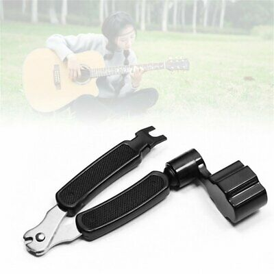 3 in 1 Guitar String Forceps Planet Waves String Winder And Cutter Pin Puller GN