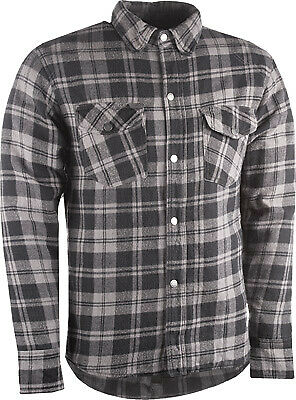 HIGHWAY 21 Marksman Riding Flannel 2XL Black/Grey