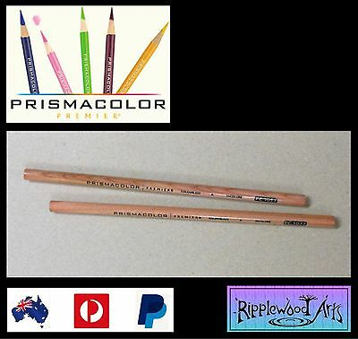 Prismacolor Premier  COLORLESS BLENDER PENCILS x 2 -  Blend Colors, Softer Edges