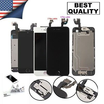 Complete Lcd Accembly Digitizer Screen Set Replacement For iPhone 7 8 Plus X Lot