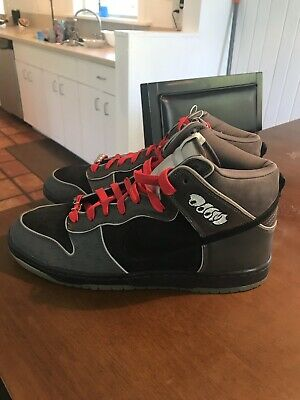 new product c3e4f 19375 Nike SB Dunk High MF Doom Size 12 RARE Flight Club New Never