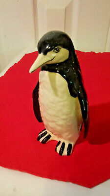 "7"" Porcelain Penguin Figurine - Made by Mann"