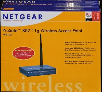 Netgear WG102 Wire Access Point