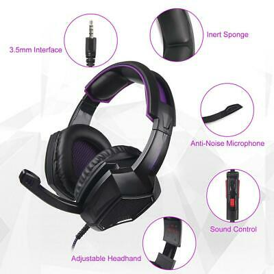 Sades SA-920 Gaming Headset Stereo Surround Headphone 3.5mm Wired Earphone w/Mic