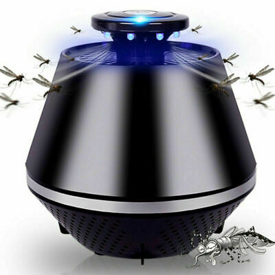 Led Mosquito Killer Lamp UV Night Light Insect Killer Bug Zapper Trap Lantern UK