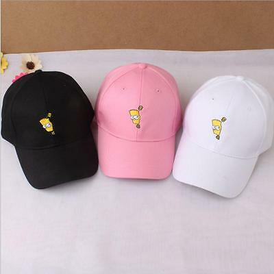 Outdoor Casual Cartoon Character Print Baseball Cap Hip Hop Snapback Hat LI