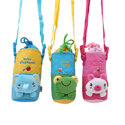 Portable Baby Milk Bottle Insulated Bag Cup Pouch Hanging Warmer Cover Holder LI