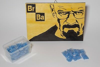 BREAKING BAD WALTER WHITE HEISENBERG poster in legno quadro Blue Sky prop meth