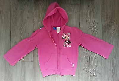 Sweat  à  capuche rose DISNEY  5-6 ans