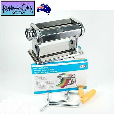 AMACO Quality Polymer Clay Conditioning Machine with 9 Thickness Settings