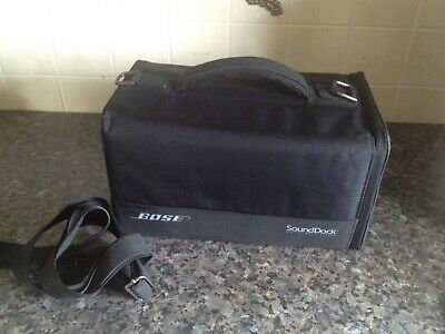 bose sound dock  padded carry storage case