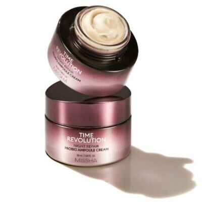 [MISSHA] Time Revolution Night Repair Probio Ampoule Compress Cream
