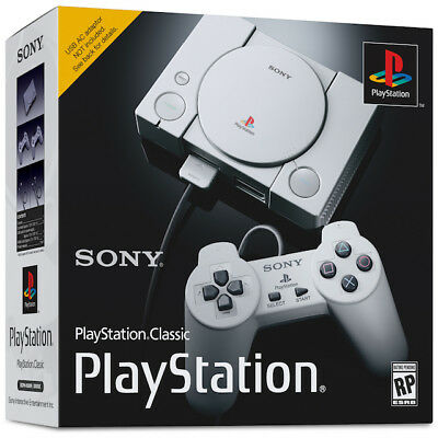 Sony Playstation Classic Mini Console with 20 Games