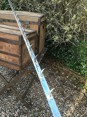 French Vintage Large Commercial Butchers Hook Rack