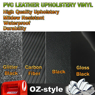 Auto Upholstery Synthetic Leatherette Vinyl Fabric Materials  Mildew Resistant