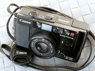 ✅   Canon AF35M (point and shot) - AF, AE, winder + flash - no Nikon L35-AF