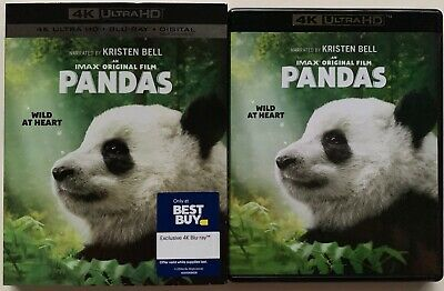 Pandas 4K Ultra Hd Blu Ray 2 Disc Set + Slipcover Sleeve Best Buy Exclusive Only