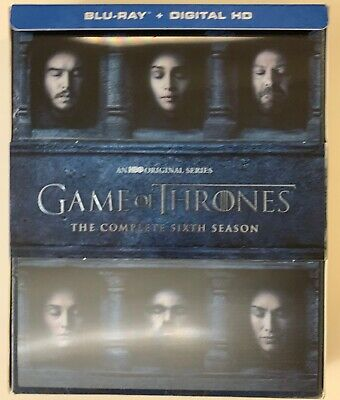 Hbo Game Of Thrones The Complete Sixth Season Blu Ray 4 Disc Set Lenticular Box