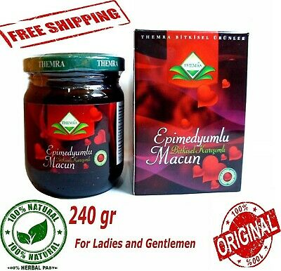 Themra Epimedium Ginseng Herbal Paste Horny Goat Weed Macun Enhancer 240GR
