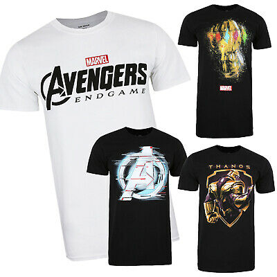 Marvel - Avengers Endgame Movie - Official - Mens - T-shirts - S-XXL