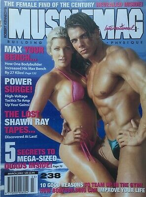 MUSCLEMAG INTERNATIONAL MAGAZINE -  March 2002