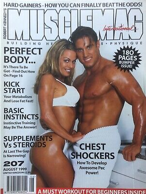 MUSCLEMAG INTERNATIONAL MAGAZINE -  August 1999