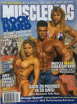 MUSCLEMAG INTERNATIONAL MAGAZINE -  April 1996