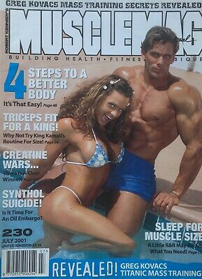 MUSCLEMAG INTERNATIONAL MAGAZINE -  July 2001
