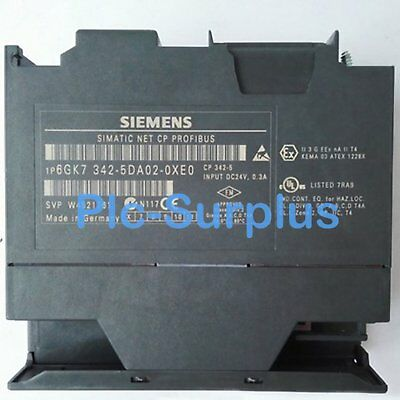 1PC Used Siemens PLC 6GK7342-5DA02-0XE0 Tested In Good Condition