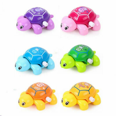 Tortoise Educational Toys Crawling Wind Up Toy For Baby Kids Mini Turtles Gifts
