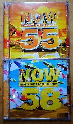 Various Artists-Now That's What I Call Music! 55 & 58 DOUBLE CDS