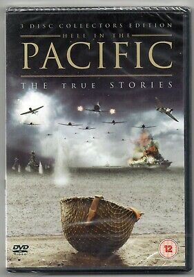 Pacific - The True Stories (DVD, 2010, 3-Disc Set)  NEW