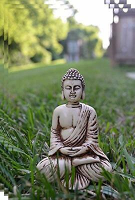 "4"" Buddha Statue Sitting Mediating Decor Figurine PREMIUM QUALITY happy & Peace"
