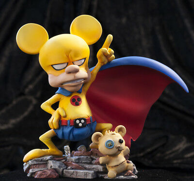 "Infine Statue Rat-Man Fly Infinite Collection /""Fletto i muscoli/"" Statua 16 cm"