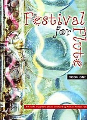FESTIVAL FOR FLUTE Book 1. Music book arranged by Adrian Vernon Fish.