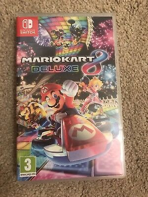 Mario Kart 8 Deluxe switch VGC