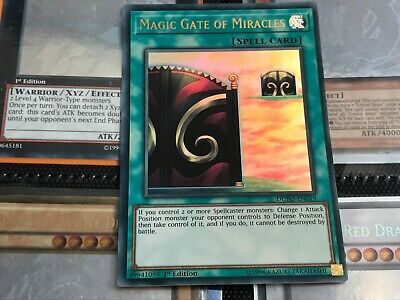 Ultra Rare 1st Edition NM Duel Power Magic Gate of Miracles DUPO-EN019