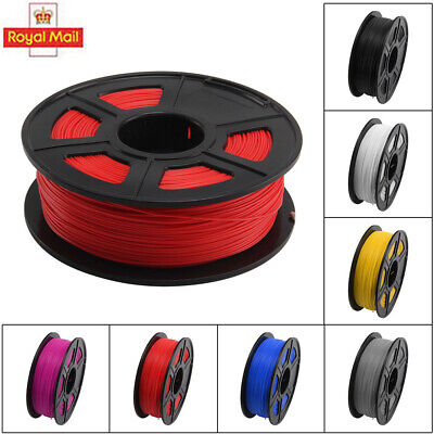 3D Printer Filament PLA - 1.75mm -1KG(350Meters) - Various Colours Available UK