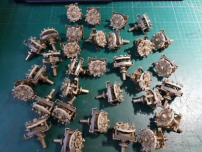 Rotary Switch Joblot NFS Rotary Switches 32pcs