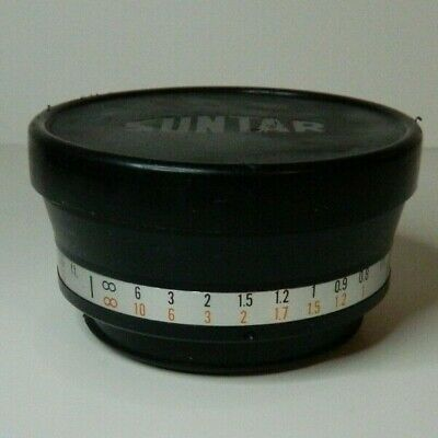 Suntar Aux Wide Angle 1:4 Lens with caps mm