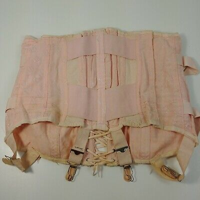 Carol Brent Foundations 1960's Open Bottom Girdle Corset Size 34 Style Unknown