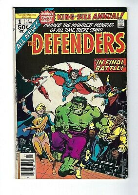 Defenders King-Size Annual # 1 (1976), Vg
