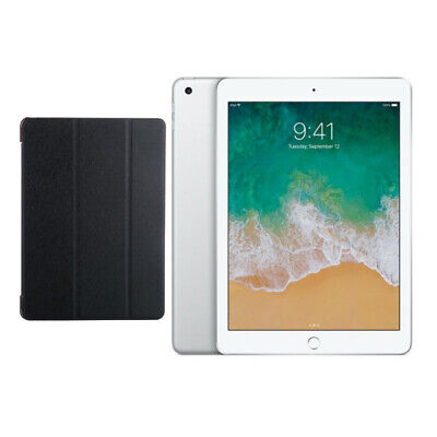 """Apple ipad 9.7"""" (2018) 32Go Wifi + Generic Stand Housse Support Coque - Argent"""