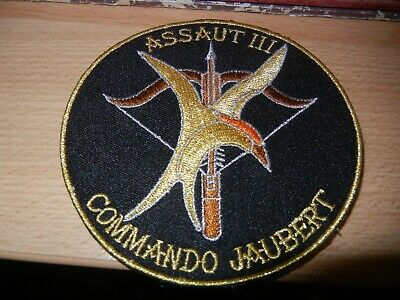 MARINE       COMMANDO   JAUBERT        ASSAUT    III         patch
