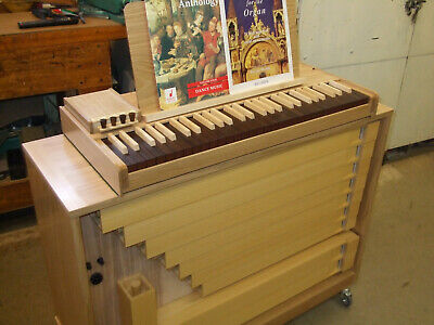 FOR SALE :- New Portable Continuo Pipe Organ
