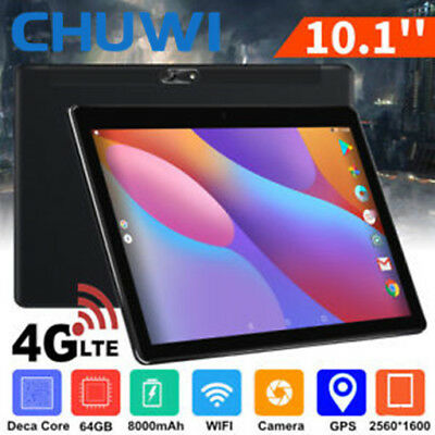 "4G Cellulare 10.1""CHUWI Hi9 Air Android8.0 DecaCore 64GB 8000mA Tablet PC NUOVO"