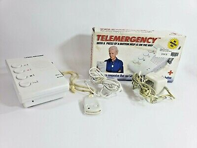 Telemergency Pro Emergency Alert System Help Pendant for Elderly & Disabled Safe